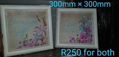 Floral message wall hangers for sale