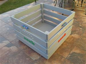 Wooden toybox