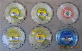 Assorted Saw Blades