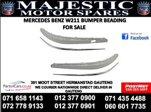 Mercedes benz W211 bumper beading for sale
