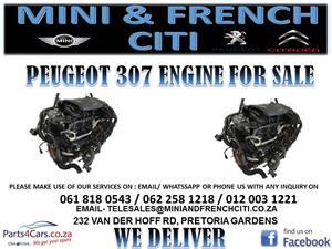 PEUGEOT 307 ENGINE FOR SALE