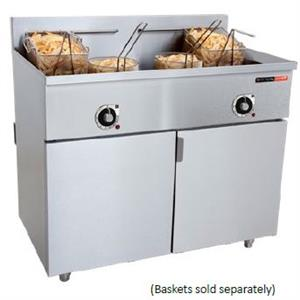FISH FRYER ANVIL-2 x 20Lt-33kW-ELEC-FFA2020