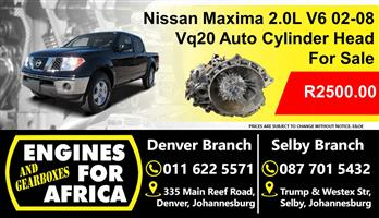 Used Nissan Maxima 2.0L v6 02-08 VQ20 Auto Gearbox For Sale