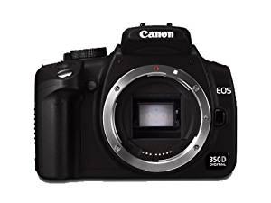 Canon EOS 350D DSLR Camera Body