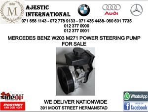 Mercedes benz W203 M271 power steering pump for sale