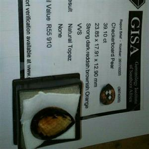 Two topaz stones for sale or WHY