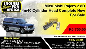 Mitsubishi Pajero 2.8D 4m40 Cylinder Head Complete New For Sale.