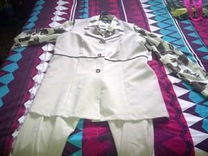 White ladies suit for sale