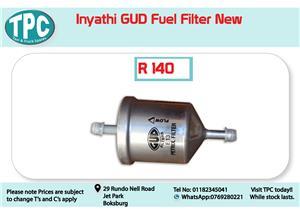 Inyathi GUD Fuel Filter for Sale at TPC