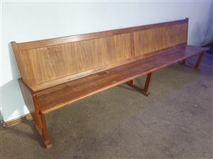 Wooden Church Benches for sale
