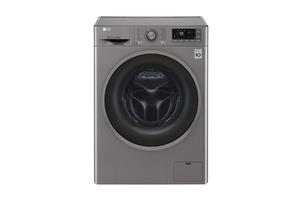 LG Washing Machine 8kg Front Loader Silver 1400rpm