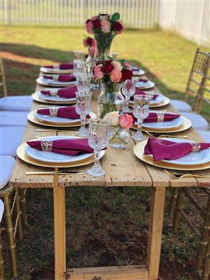 Vip Lounge set up,Birthday Picnics and Traditional Weddings.