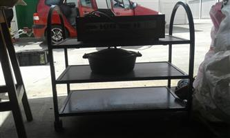 3 Tier trolley shelf for sale