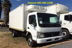 2011 Mitsubitishi Fuso FE7-136 4 Ton Fridge Truck For Sale