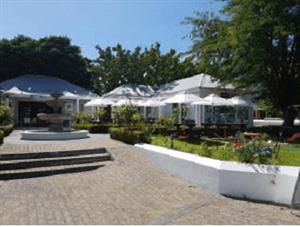Magnificent Restaurant Deli in Franschoek for sale.