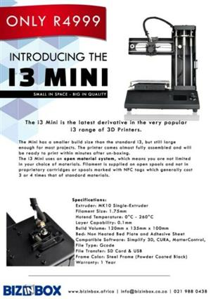 Affordable and efficient 3d printer for sale brand new