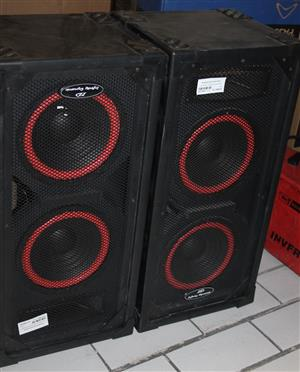 2 x Infinity dynamic speakers S031259A #Rosettenvillepawnshop