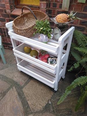White veggie shelf for sale