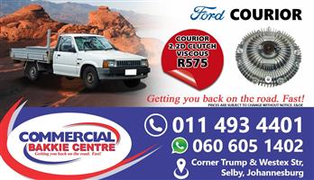 ford courier r2 viscous clutch