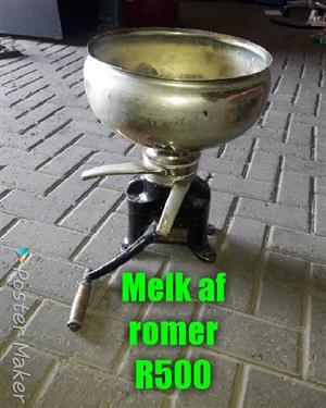 Melk of romer te koop