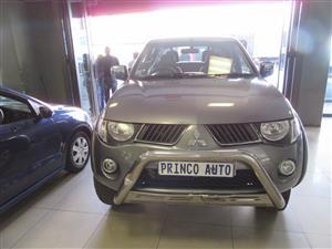 2010 Mitsubishi Triton 2.5DI D 4x4 double cab