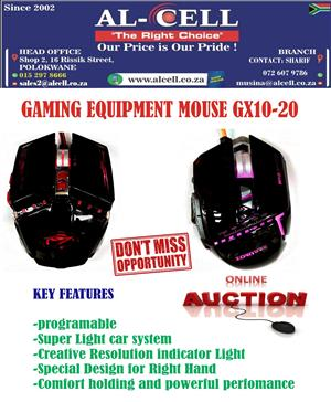 """Grab A Deal "" Brand New 2400 dpi Backlit Gaming Mouse"