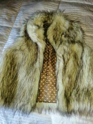 faux fur gilet for sale