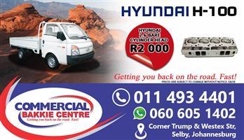 hyundai 4d56 cylinder head bare