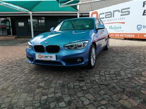 2018 BMW 1 Series 5-door 118i A/T (F40)