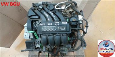VW GOLF 5 1.6L BGU ENGINE FOR SALE