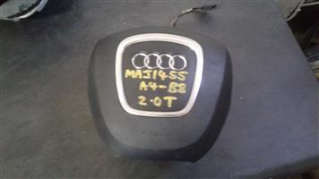 AUDI A4 B8 2 0T SECOND HAND STEERING AIRBAG   Junk Mail