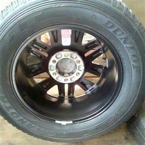 Toyota Dakar rims for spare wheel