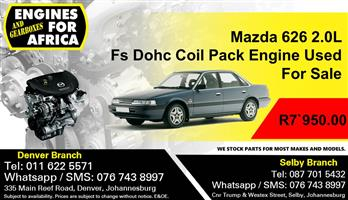 Mazda 626 2.0L Fs Dohc Coil Pack Engine Used For Sale