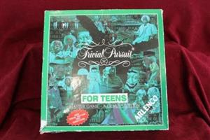 Games - Trivial Pursuit / For Teens (Board Game)