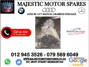 Audi B8 1.8 T gearbox for sale
