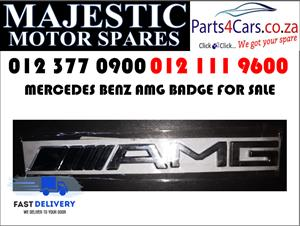 Mercedes benz AMG badge for sale new