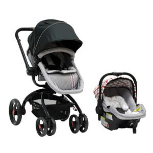 Twister Travel System – Red / Grey
