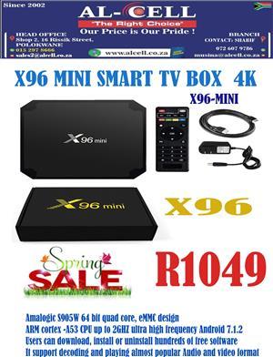 X96 MINI 4K SMART TV BOX