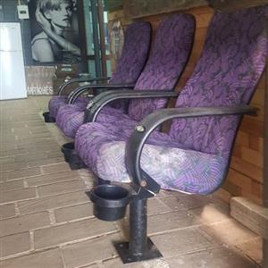Cinema chairs good condition
