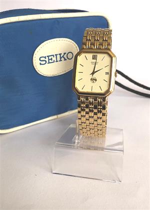 VINTAGE SEIKO MEN DRESS WATCH, LIKE NEW for sale  Randburg