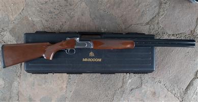 Shotgun. Italian 12 Ga Over/Under. Marocchi Silver Snipe.