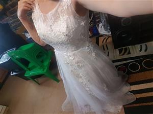Wedding dress and bridesmaid dress for sale