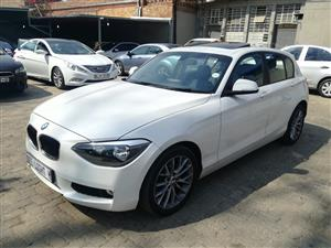 2015 BMW 1 Series 118i 5 door Sport Line auto