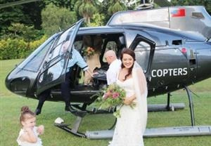 Helicopter charter for hire!