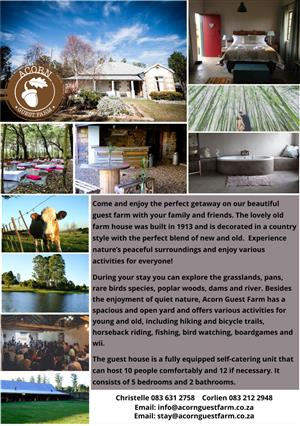 Acorn Guest Farm