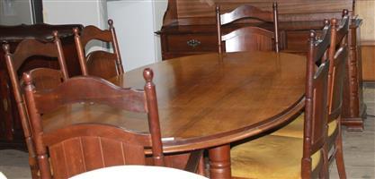 S034505A 8 Piece dining room set #Rosettenvillepawnshop