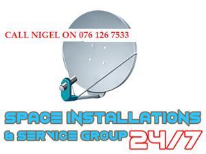 24/7 dstv/ovhd/starsat installer KENWYN call 076 126 7533
