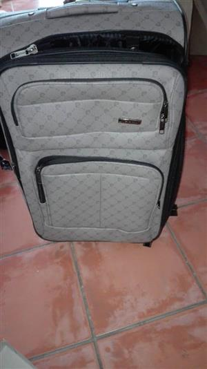 Grey travel bag for sale
