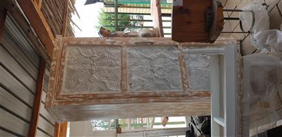 Pressed ceiling cupboard