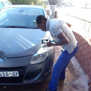 Car Polishing and grazing